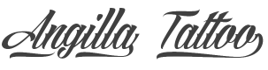 Angilla Tattoo font preview