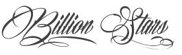 Billion Stars font preview