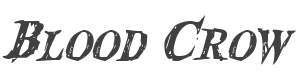 Blood Crow Condensed Italic style