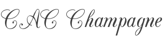 CAC Champagne font family