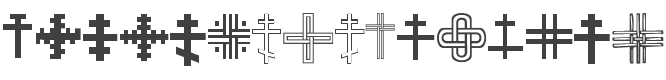 Christian Crosses III