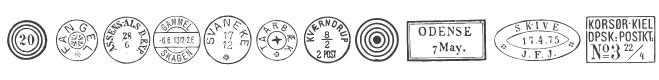 Danish Postal Markings
