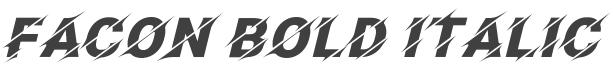 Facon Font preview