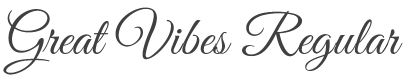 Great Vibes Font preview