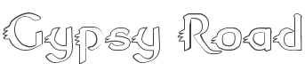 Gypsy Road Outline font