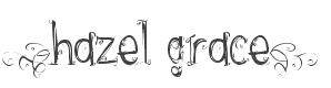Hazel Grace Font preview