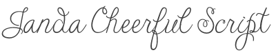 Janda Cheerful Script