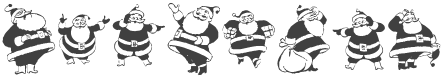 KR Eight Santas