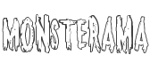 Monsterama Outline style