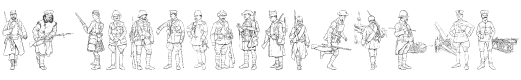 World War I Soldiers A style