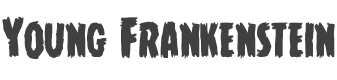 Young Frankenstein font family