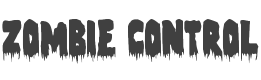 Zombie Control Condensed style